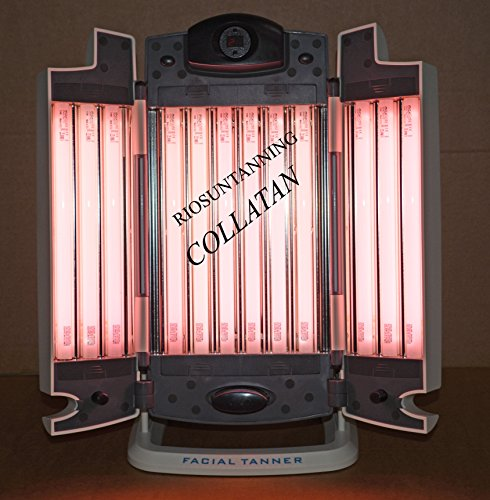 COLLATAN FACIAL LAMP COMBINED TANNING AND COLLAGEN