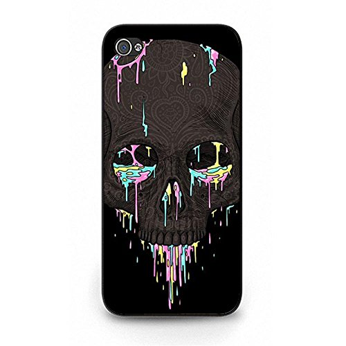 Unique iPhone 5c Phone Case Hipster Backgrounds Skull Head Design Phone Molded Case for iPhone 5c