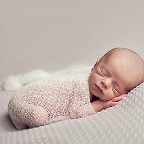 Amlaiworld Baby Rayon Wraps Stretch Knit Wrap Newborn Photo Props
