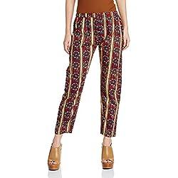 Myx Women's Pyjama (SS17KALPAL13_Maroon_Medium)
