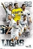 empireposter - Real Madrid  - Campeones 32 Ligas - Größe (cm), ca. 61x91,5 - Poster, NEU -