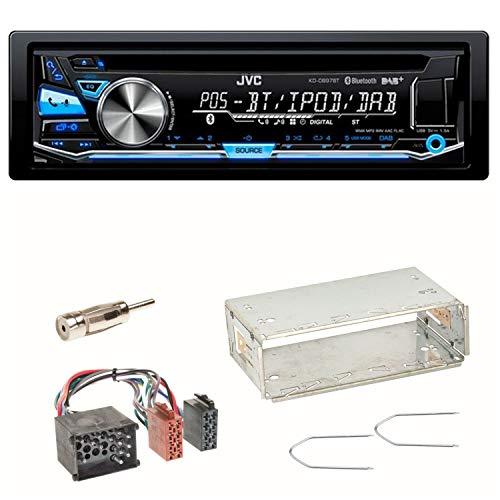 JVC KD-DB97BT USB DAB+ Autoradio CD Bluetooth Einbauset für BMW E36 Z3