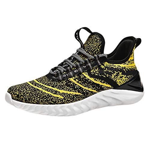 Schuhe Herren Sneaker Camouflage Air Cushion Laufschuhe Sportschuhe Turnschuhe Freizeitschuhe Leichte Bequeme Fitnessschuhe für Männer Freizeit Mode Sneake (Heels Dollar Unter 10)