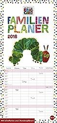 Die kleine Raupe Nimmersatt Familienplaner - Kalender 2018