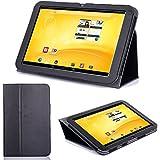 Supremery TrekStor Volks-Tablet PC 3G Hülle Case Cover Tasche mit Standfunktion -Trekstor Volks-Tablet 3G (VT10416-2) Hülle Case