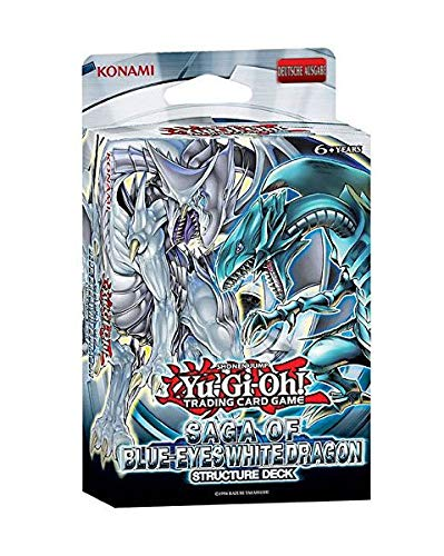 Yu-Gi-Oh! Saga of the Blue Eyes White Dragon Deutsch (Deck Drachen Yugioh)