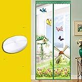 JIA-fANG-GOD Fliegengitter für Fenster verschlüsselung Stumm die geschlossene Tür aus Gaze.-D-100x220cm(39x87inch)