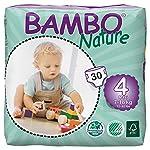 Bambo Nature Midi Size 3 (11-20lb / 5-9kg) Premium Eco-Nappies - 66 pieces per Tall Pack