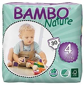 Abena Bambo Nature - Pannolini, misura maxi, 30 pz