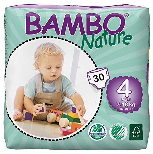 Bambo Nature (15-40lb / 7-18kg) Eco Nappies 51WDyWz 2BtNL