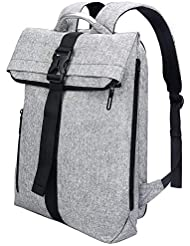 "REYLEO Zaino per computer portatile 15.6"" 17"" Backpack laptop"
