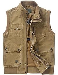 Angler Weste Bodywarmer S M L XL 2XL 3XL 9 Taschen Freizeitweste Multifunktion
