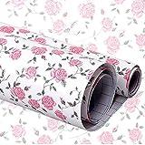hangnuo autoadhesivo Contacto Floral estante maletero cajón Liner Mat 200 x 45 cm