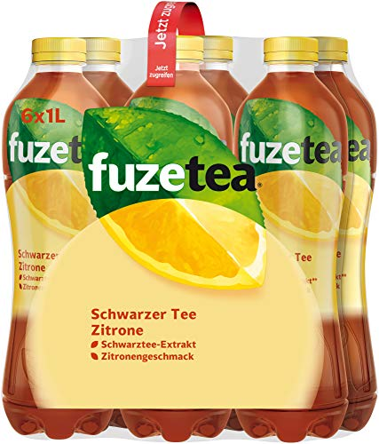 Fuze Tea Zitrone, EINWEG, 6er Pack (6 x 1 l)