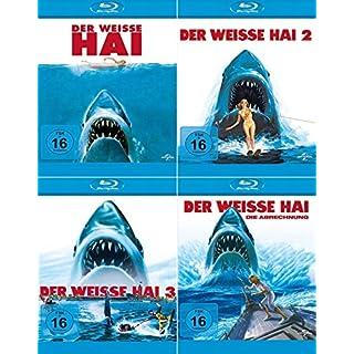 Der weisse Hai 1 - 4 Collection | Jaws Quadrilogy (4-Blu-ray)