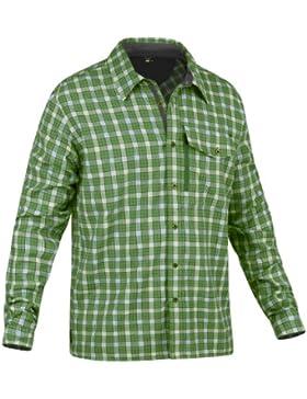 Salewa Therma PL M L/S SRT Camicia, Verde (M Pamir Eucalyptus), XL