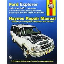 Ford Explorer 1991 thru 2001 (Haynes Repair Manual (Paperback))