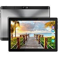 Kivors 10.1 pouces Tablette Tactile 3G -Android 7.0 MT6580 Quad Core -1.3GHz-1 RAM16 Go ROM - 800*1280 HD - Double Carte SIM Support TF Card- Double Caméra - Bluetooth 4.0 - Wifi pour Enfants Adults (Noir)