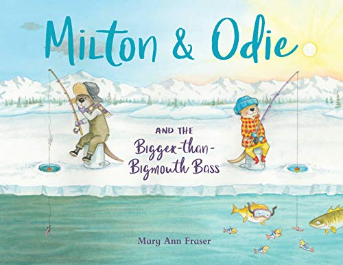 Milton & Odie and the Bigger-than-Bigmouth Bass (English Edition) - Bait Net Fish