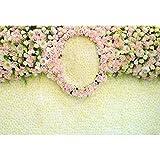Cassisy 3x2m Vinile San Valentino Fondale Foto Elegante Rose colorate Fiori Wallpaper Ghirlanda Sfondo fotografico Photo Booth Lovers Partito Photo Studio Puntelli