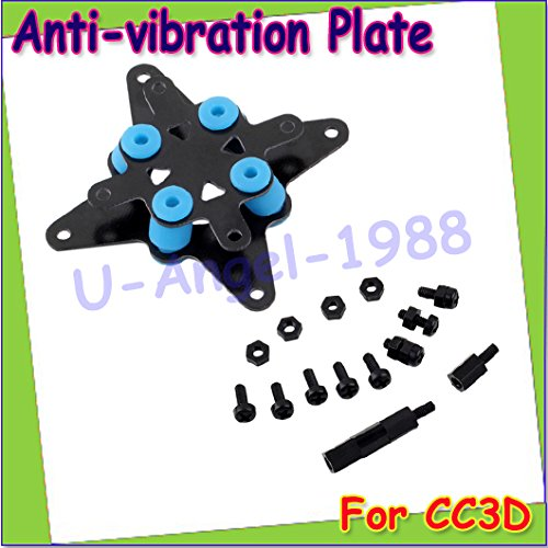 Generic 1pcs Fiberglass CC3D Flight Controller Anti-vibration Plate Set Mini APM Compatible +free shipping