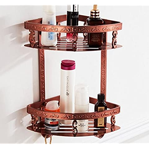 MSRRY Il Triangolo d'oro di rose Cestello rack rack Asciugamano
