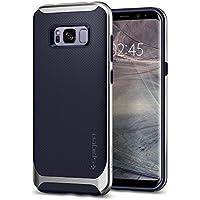 Spigen [Neo Hybrid] Samsung Galaxy S8 Hülle (565CS21600) Zweiteilige Handyhülle Silikon TPU Schale mit PC Bumper Schutzhülle Case (Silver Arctic)