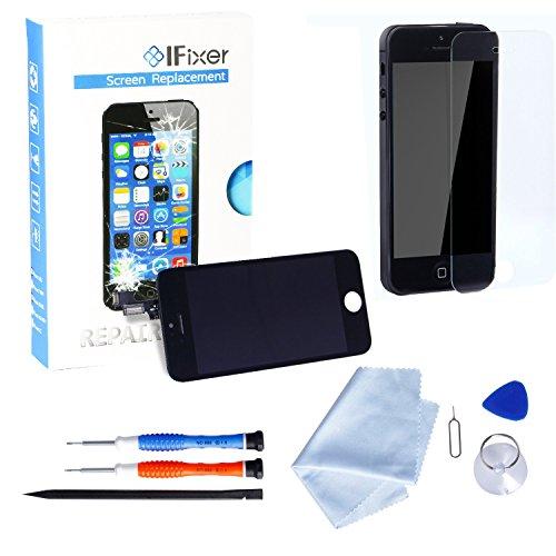 Ifixer lcd schermo da sostituire kit con vetro nero per iphone 5s