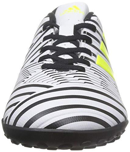 adidas Men    s Nemeziz 17 4 Tf Football Boots  White  Blanco  Ftwbla Amasol Negbas  000   10 UK