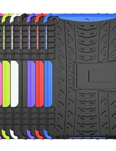 zzll151 helle Wellen-TPU und PC zurück Fall mit Halt für Apple iPad mini 3 (Farbe sortiert) , green KKKAOOL -