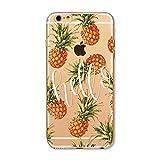 Coque Iphone 5 5S Se Ananas Tropical Fruit Hello Summer