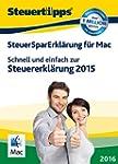 SteuerSparErklärung 2016 - Mac-Versio...