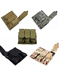 Bazaar Molle nylon paquete de usos múltiples de triple PAQUETE bolsas de Accesorios