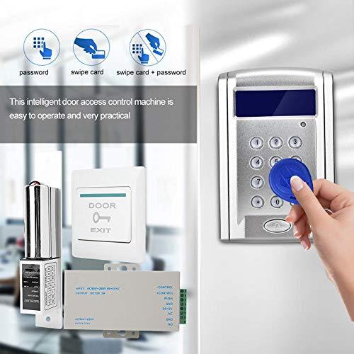 Sistema de Control de Acceso para Puertas con Cerradura Magnética, Le