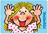 Fensterbild * Freche Lotte als Postkarte von Lutz Mauder