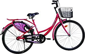 """BSA Ladybird Breeze Bike, 24"""" (Coral Red)"""