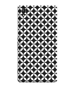 FUSON Designer Back Case Cover for Sony Xperia C6 Ultra Dual (Beautifull Stitch Pattern )