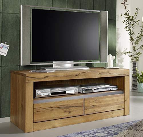 Main Möbel Lowboard Holz massiv Eiche 115cm Livorno