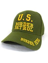 US Border Patrol - Casquette Americaine brodée - Vert - Taille Unique