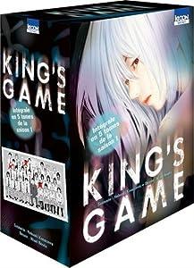 King's Game coffret intégral Tomes 1 à 5