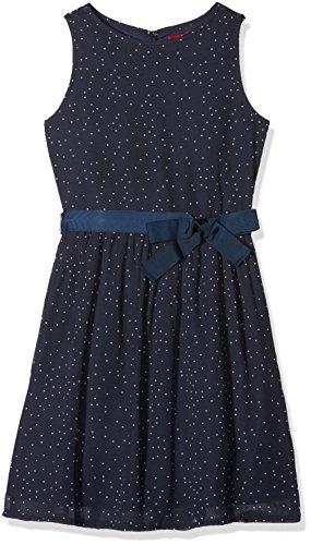 s.Oliver Mädchen Kleid 73.711.82.2749, Blau (Dark Blue Aop 58B1), 158