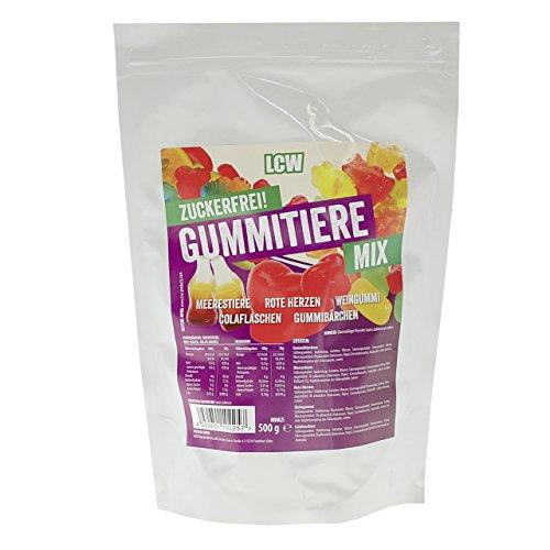 LCW zuckerfreie Gummitiere MIX / 500g - 2