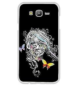 Girl Graffiti 2D Hard Polycarbonate Designer Back Case Cover for Samsung Galaxy E5 (2015) :: Samsung Galaxy E5 Duos :: Samsung Galaxy E5 E500F E500H E500HQ E500M E500F/DS E500H/DS E500M/DS