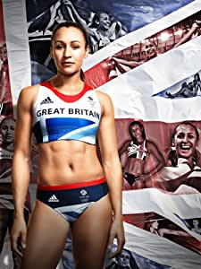 """JESSICA ENNIS TEAM GB 2012 OLYMPICS 16 X 12"""" MONTAGE REPRODUCTION PHOTOGRAPH"""