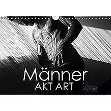 Männer AKT Art (Wandkalender 2016 DIN A4 quer): Stilvolle Männer - Akte in ästhetischer Abstraktion aus Linien und Körpern (Monatskalender, 14 Seiten) (CALVENDO Kunst)
