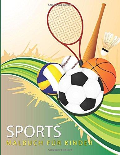 Sport-Malbuch für Kinder