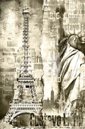 Tour Großes Poster (XXL-Poster Tour Eiffel - Größe 115 x 175 cm)