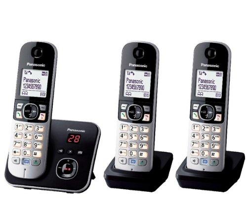 Panasonic KX-TG6823 Téléphones Sans fil Répondeur Ecra