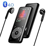 AGPTEK Bluetooth 4.0 MP3 Player Built-in Speaker A16 Lossless Sound MP3 Music Player
