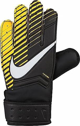 Nike Kids' Goalkeeper Match-Laser Gloves, Black/Laser Orange/White, Size